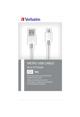 Micro USB-kabel synkroniserings- och laddkabel